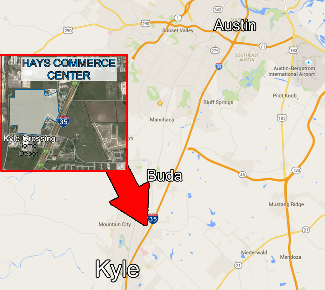Map Of Texas Kyle.For Sale Commercial Land In Kyle Texas