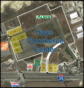 Hays Commerce Center Aerial